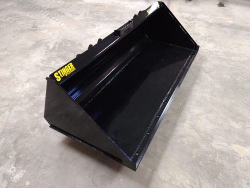 Material Bucket Skid Steer Attachment Series 1