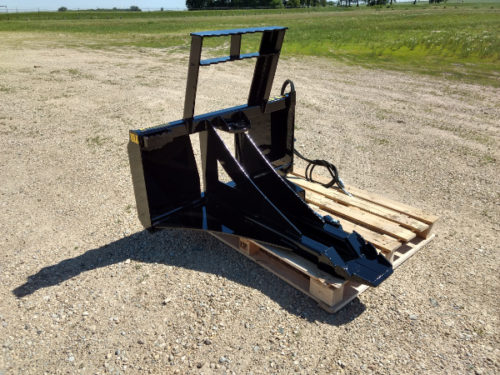 skid steer tree puller