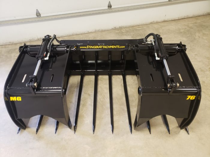 MG Series Manure Grapple 4