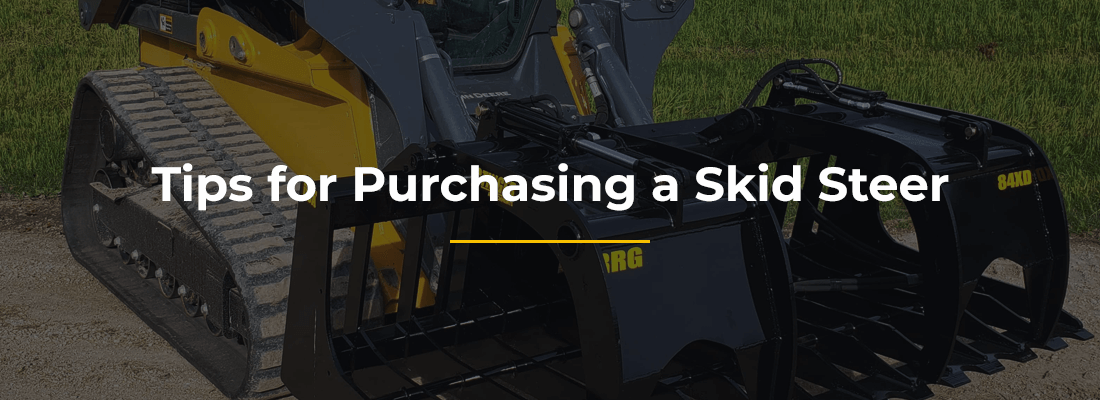 Tips for Purchasing a Skid Steer
