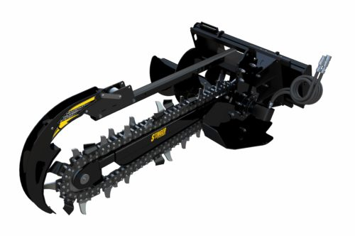 Bigfoot Trencher Attachment for a Skid Steer