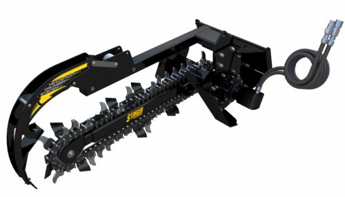 Mini Bigfoot Trencher Attachment for a Skid Steer